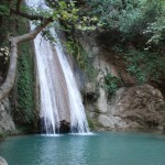 Waterfall in river Neda, source wikipedia