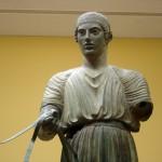 The coachman in Delphi museum source wikipedia
