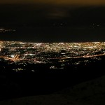 Panoramic view of Patras at night, source wikipedia