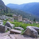 Delphi-The navel of earth, photo Stella Vradi