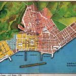 Patras old city plan, source wikipedia